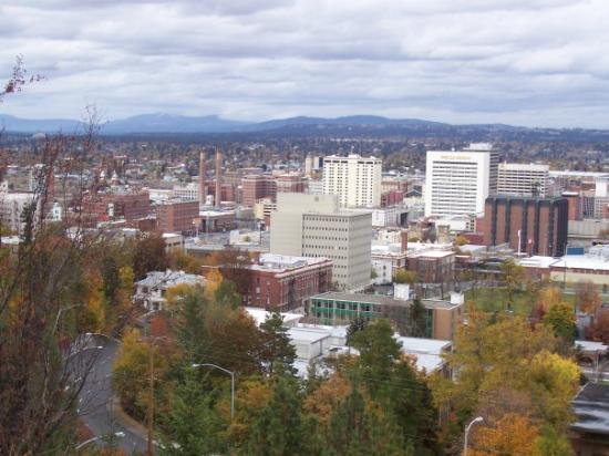 Downtown Spokane: For my Turkish (3) and Greek (1) face book friends Spokane, Washington a few winters ago