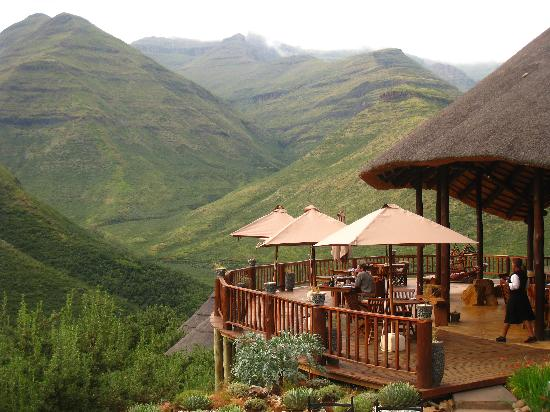 Tsehlanyane National Park, Lesotho: View of the deck