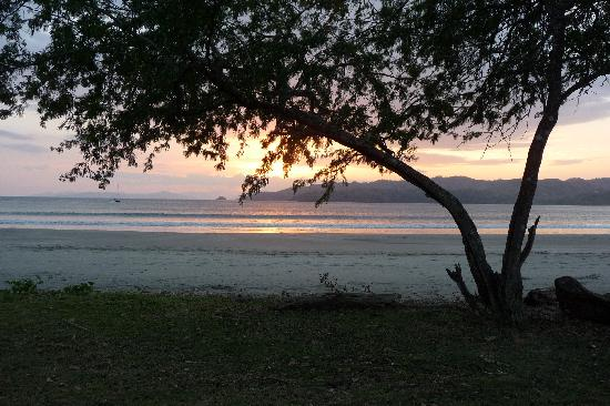 Villa Marina Lodge: Sunset view from the edge of the grounds