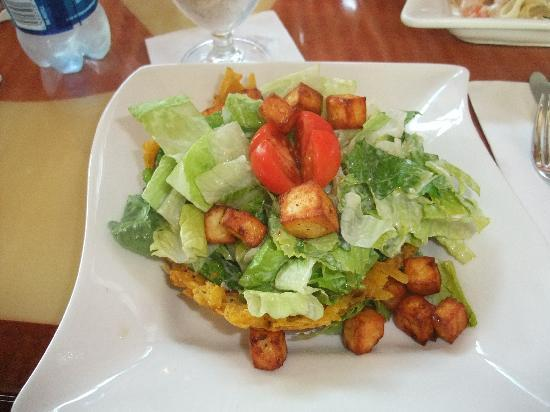 Courtyard Aguadilla: Borica Cesar Salad - from the hotel restaurant