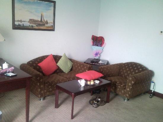 Wandai Hotel: Living room