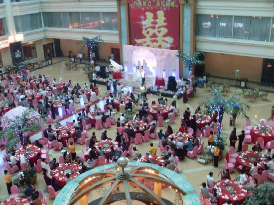 Wandai Hotel: Wedding in Atrium