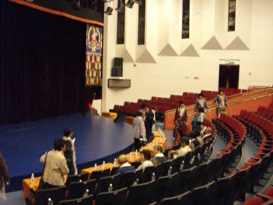 Sheraton Jiuzhaigou Resort: 併設されているシアター