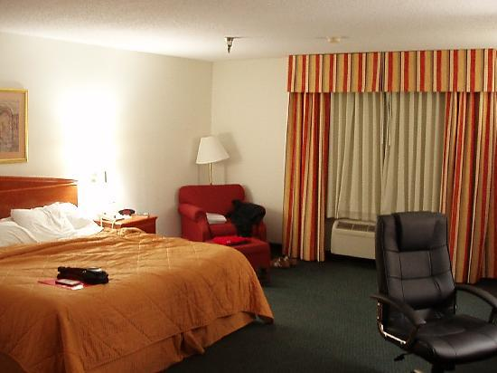 Comfort Inn Nashville/White Bridge: Big room