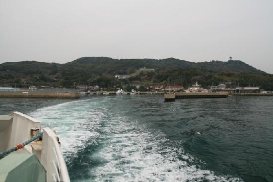 Nokonoshima Island : 能古島を後にする