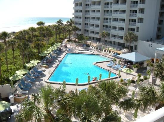 Resort at Longboat Key Club: the pool