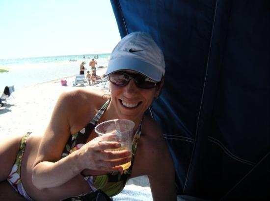 Resort at Longboat Key Club: cold drink on a hot day