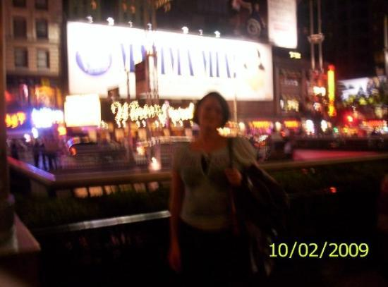 Mamma Mia! on Broadway: Mamma Mia... Here I go again....   Lol