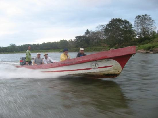 Waspam, Nicaragua: One of our boats on the Rio Coco