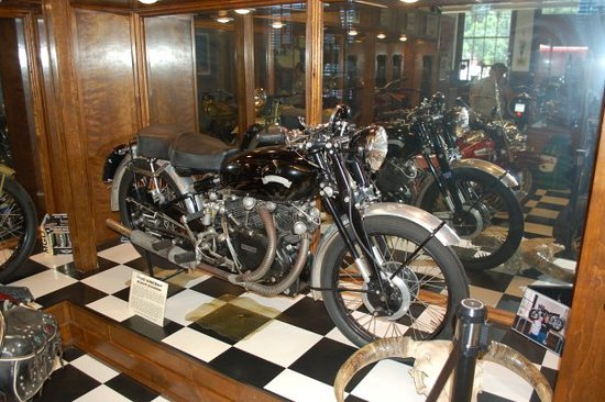 Sturgis Motorcycle Museum & Hall of Fame: 1952 Vincent Black Shadow,  $$$$$