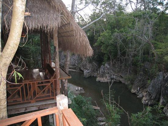 Soppong, Thailand: terrasse (commune)