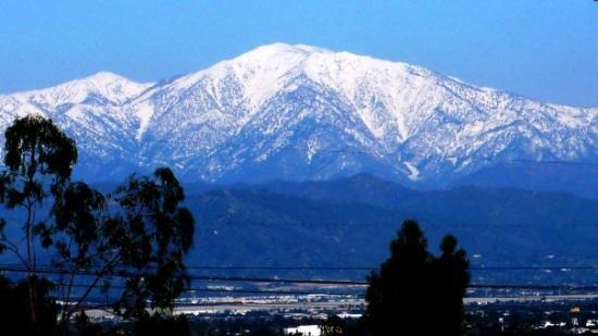 Rain Amp Snow In The San Gabriel Mountains Mount Baldy Mount Wilson Feb 5 To 7 2010 Picture