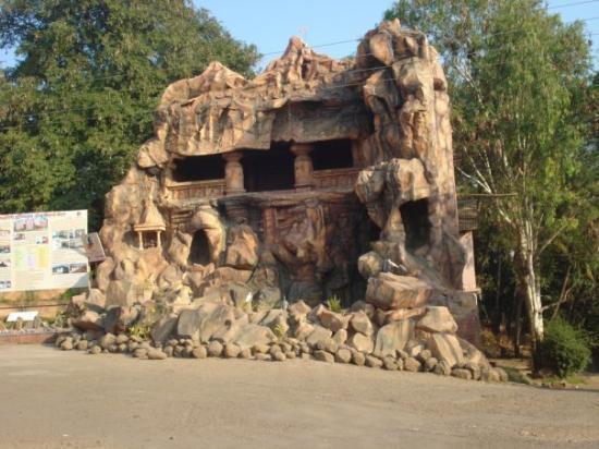 Kolhapur, Inde : Siddhagiri Museum