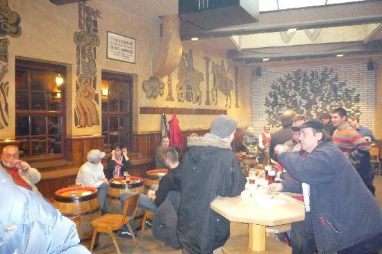 Zum Uerige: Uerige, Dusseldor - Inside, smoking area