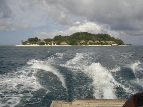 Nikoi Island: Leaving the island, can't wait to go back!