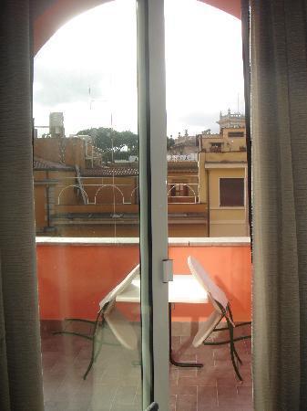 Hotel Caprice: terraza