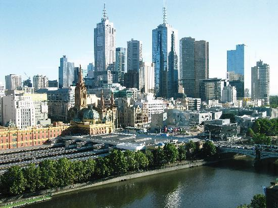 The Langham, Melbourne: View from room 2027