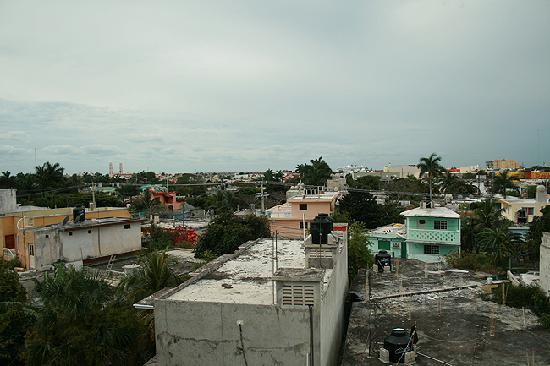 Mi Casa en Cozumel: view from mora room