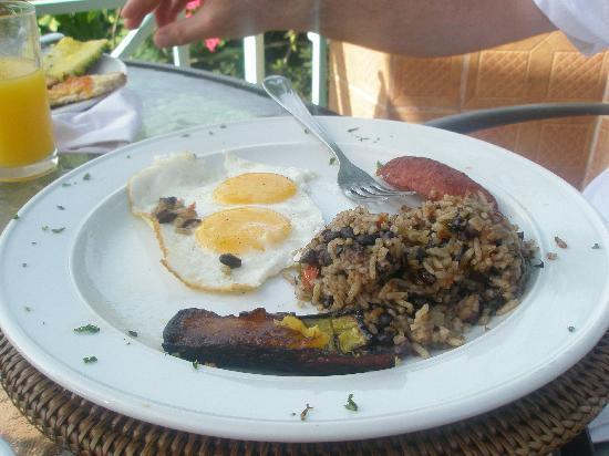 La Mansion Inn: breakfast