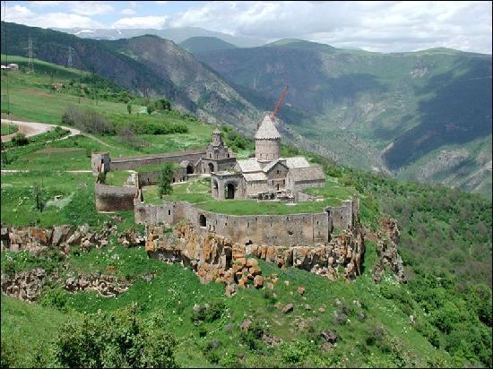 Armenia: Tatev monastery 9-13 century