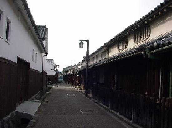 Kashihara, Япония: 今井町の中を歩く