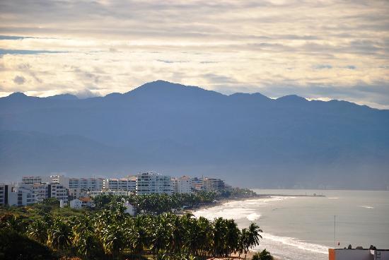 Hotel Riu Vallarta : View from room