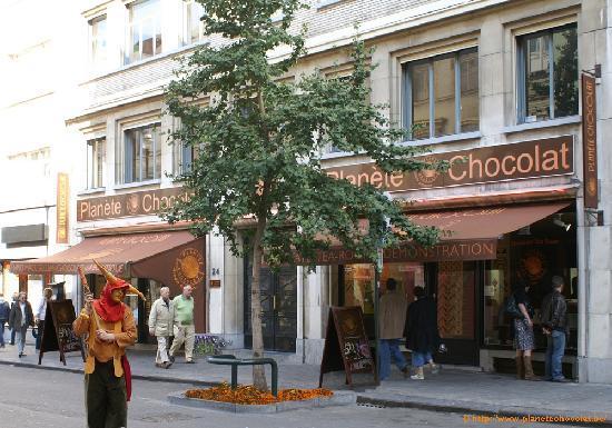 Planete Chocolat: Planète Chocolat de l'exterieur