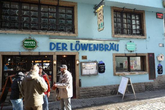 Altstadthotel Lowenbrau : Lowenbrau (Koln), back entry