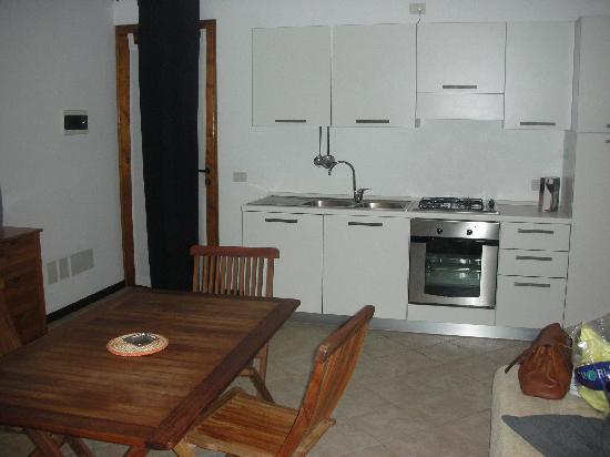 Aparthotel Ca'Nicola: Kitchenette