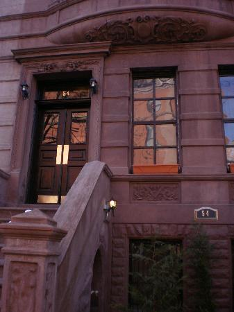 Harlem Bed and Breakfast: Outside photo of Harlem B&B. Beautiful Brownstone House on a quiet Street.