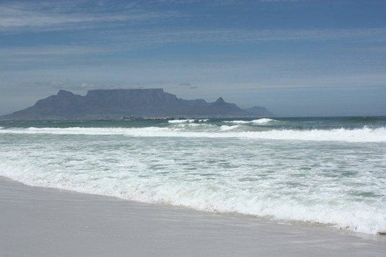 Bloubergstrand, Sydafrika: Table mountain