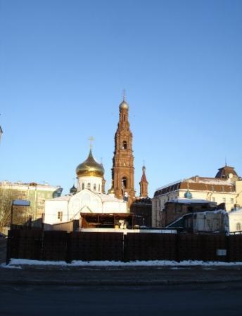 Казань, Россия: Благовещенская церковь