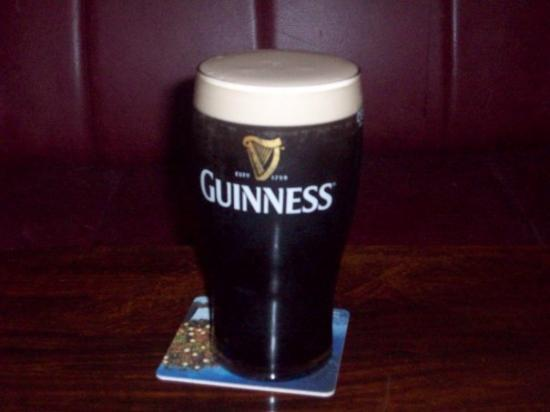 My first Pint in Ireland (Naas)