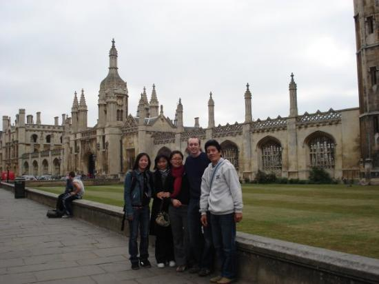 at king's college cambridge