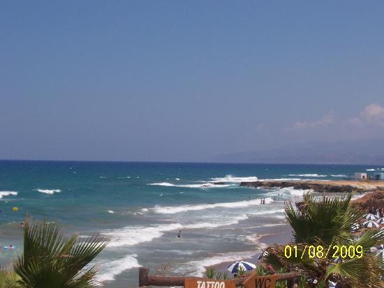 Star Beach Village & Water Park: Stranden ved hotellet
