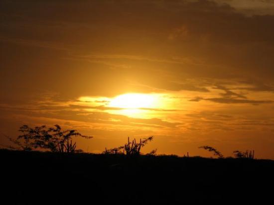 Riohacha, Colombia: ASI SE TERMINO LA TARDE