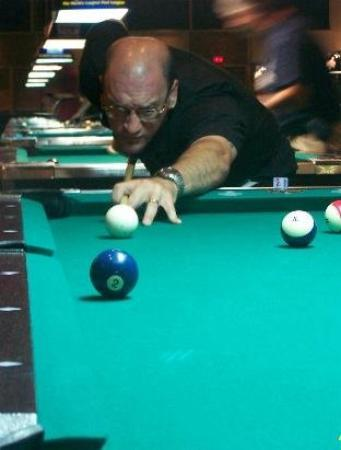 Presque Isle, ME: playing in las vegas at the riviera hotel and casino. competeing in the 2007 national 9ball shoo