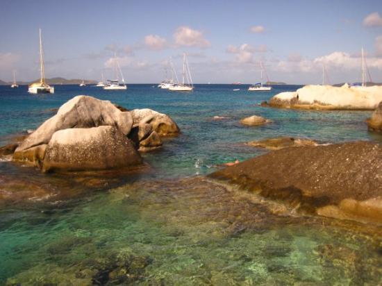 The Baths of Virgin Gorda, British Virgin Islands, Caribbean