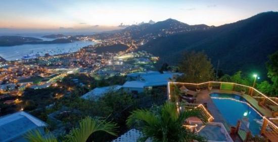 Virgin Islands National Park, St. John: The best view of St. Thomas.