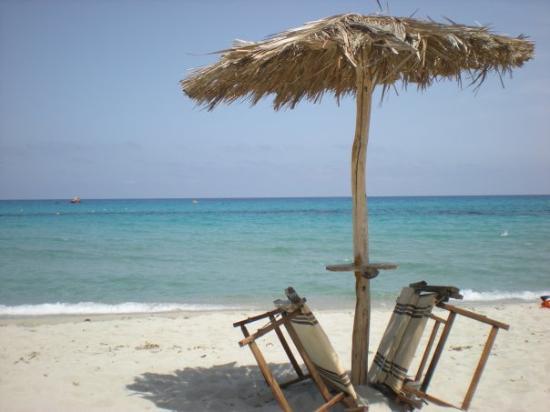 Tortoli, Italia: Strand Cea, Sardinien