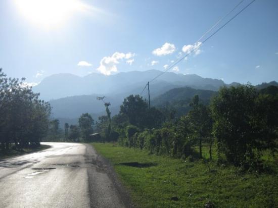 Tegucigalpa, Honduras: The mountains.