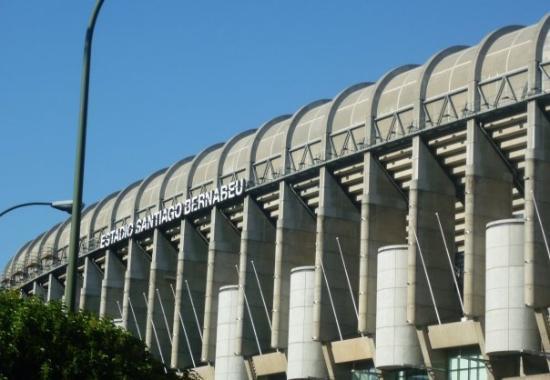 Stadio Santiago Bernabeu: El Santiago Bernabeu.