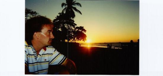 Sunset at Tamarindo Beach