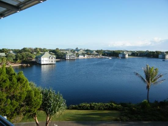 Maroochydore, Αυστραλία: The view from our apartment looking to the left