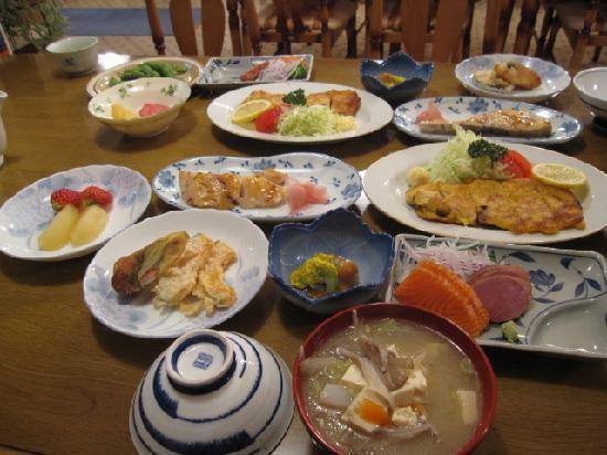 Iwate-gun, Japan: 夕食
