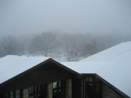 Cacapon Resort State Park: The view from the Lodge