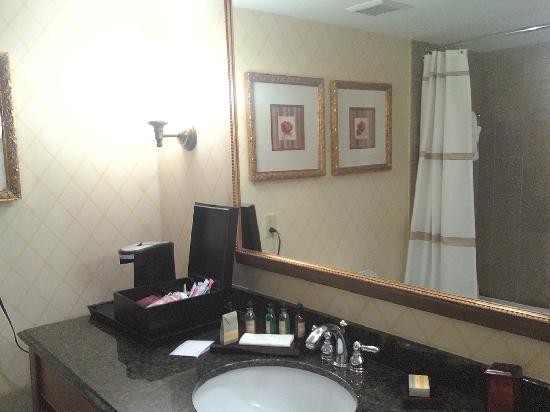 Delta Hotels by Marriott Chesapeake: Bathroom