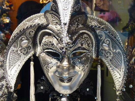 Milan, Italy: Face of Carnivale