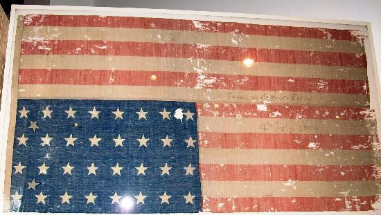 History Museum of Mobile: Harper's Ferry Flag