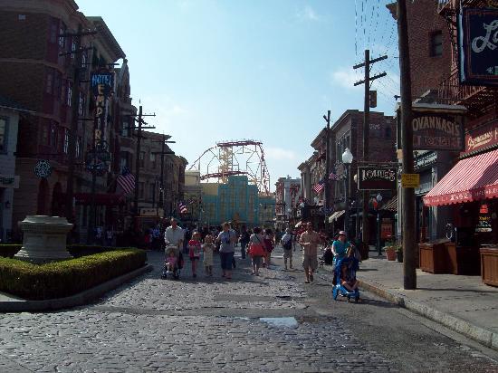 Orlando, FL: Callecita de Universal Studios